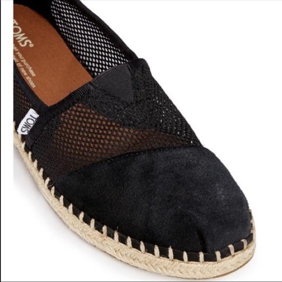 e4800cf8388d TOMS Mesh Suede Espadrille. M 5c7deeda5c445201b48b69a7. Other Shoes ...